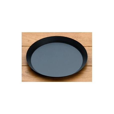 moule tarte en acier bleui lisse bord droit 4 5cm. Black Bedroom Furniture Sets. Home Design Ideas