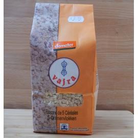 Flocons de 5 céréales bio