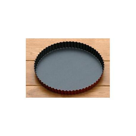 Moule à tarte en acier bleui (Cannelé)