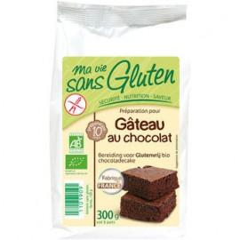 Préparation gâteau bio au chocolat sans gluten- 300g