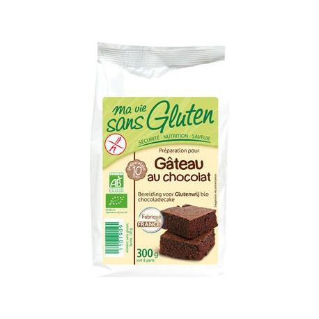 Préparation gâteau bio au chocolat sans gluten