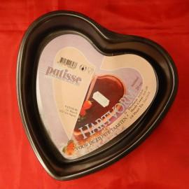 Moule «Cœur» lisse anti-adhérent