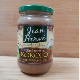Pâte à tartiner bio Kokolo (noisettes-coco)