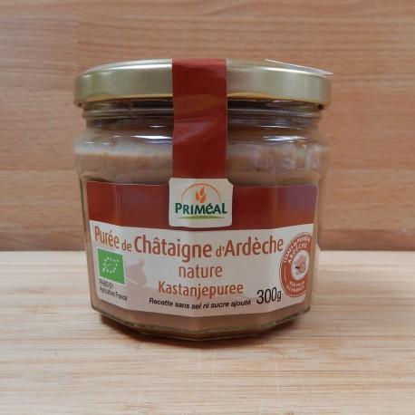 Purée de châtaigne d'Ardèche bio