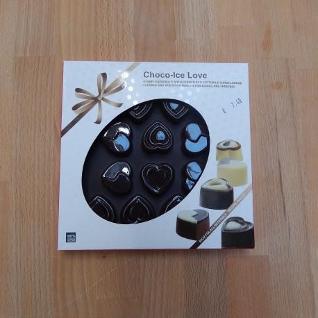 Moule à chocolat et à glaçons – petits cœurs